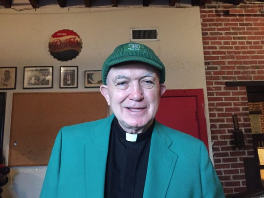 Father Mike O'Brien will be the grand marshal of Hal's