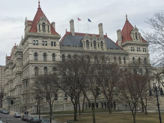 The New York State Capitol on Jan. 26.