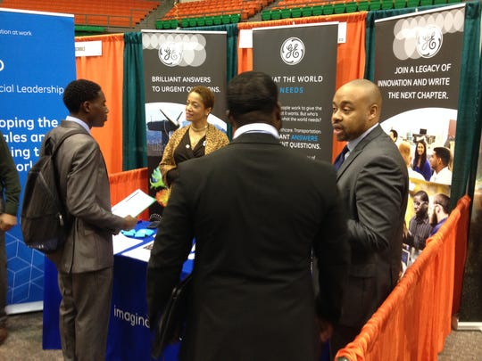 General Electric was among the 63 recruiters attending the Spring Career Expo at FAMU on Wednesday. Majors in business, engineering and computer science were in demand.