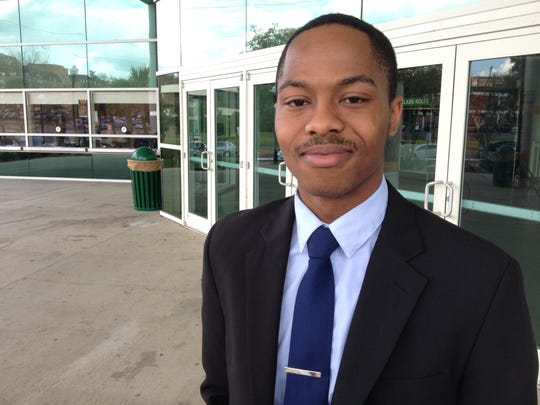 Howard Milligan, a business administration major at FAMU, says as an asthma sufferer, he welcomes a total ban on smoking and tobacco products.