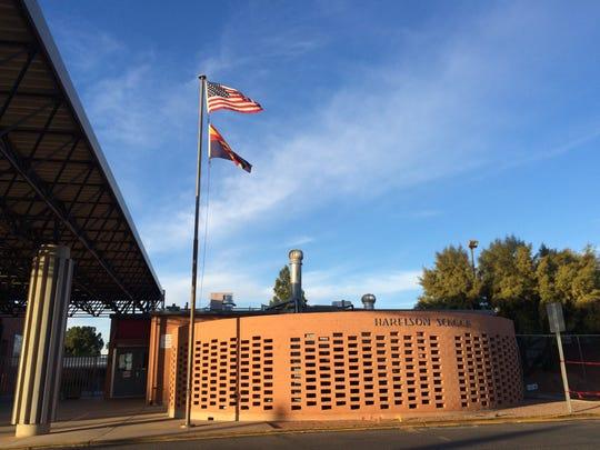 U.S. Rep. Kyrsten Sinema, D-Ariz., attended Winifred Harelson Elementary School in Tucson.