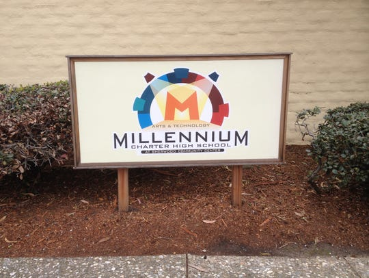 Millennium High sign