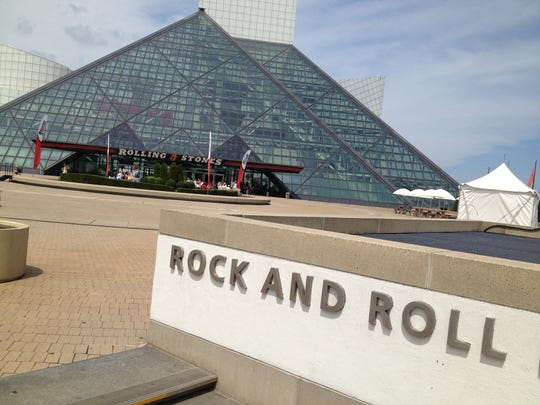 The Rock and Roll Hall of Fame can lead to romance in Cleveland.