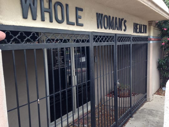 The Whole Woman's Health clinic in McAllen, Tex., would