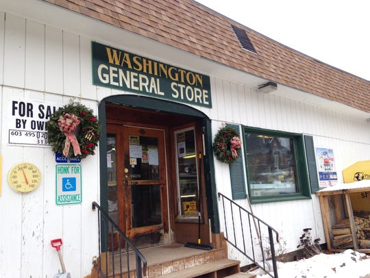 The Washington General Store in Washington, New Hampshire.