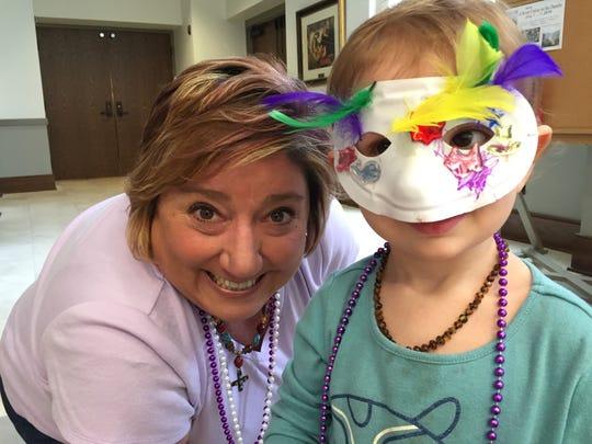 St. Paul's Episcopal Church in Murfreesboro hosts a Mardi Gras celebration and education program for children.