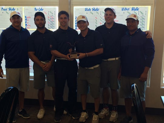 Dixie State went up against the big boys and came away with a second place finish at Sunbrook Golf Club.