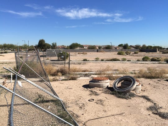 West Valley eyesores: Several undeveloped acres near