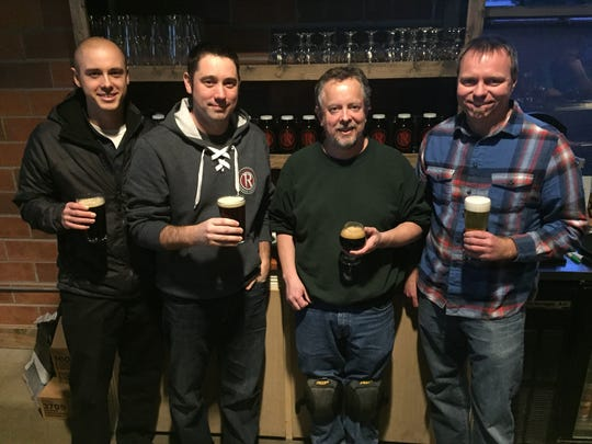 Reclaimed Rails owners from left Chandler Parsons, JC Obrecht, David Coy and Jeremy Boka