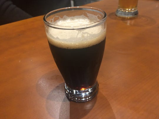 The Big Time Rye Porter at Iowa City Brewlab.