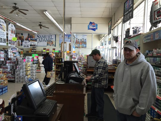 Dan Kury returned to work at his store, the Red Lion Beer and Soda Mart, the day after returning from his cruise.