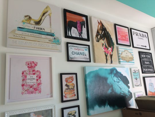 The teen room designed by Carson Kressley inside the