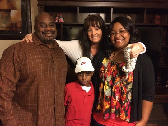 The Whitehurst family will be featured in Sunday's