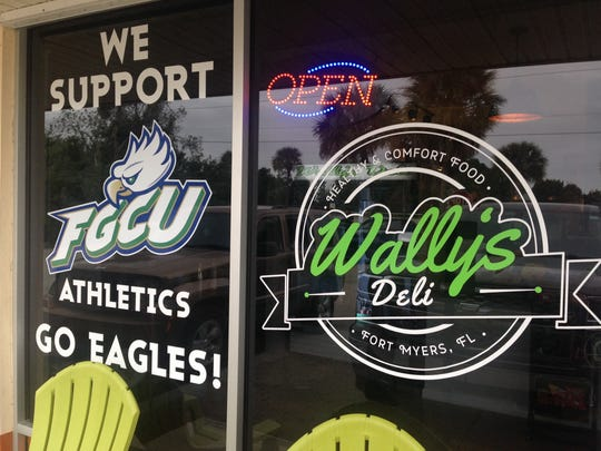 A take-out sandwich shop catering to FGCU students and local workers along Alico Road in San Carlos Park.