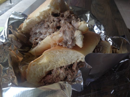 At Wally's Deli in San Carlos Park, the cheese steak