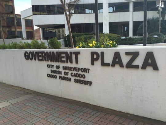 File photo: Shreveport Government Plaza