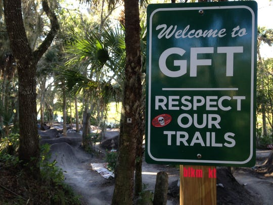 The Grapefruit Trails is a challenging, trail riding