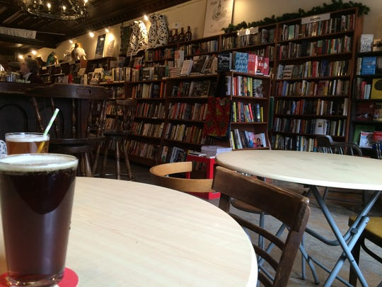 The Spotty Dog Books & Ale in Hudson, New York.