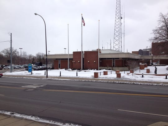 Current Battle Creek police headquarters at 10 N. Division