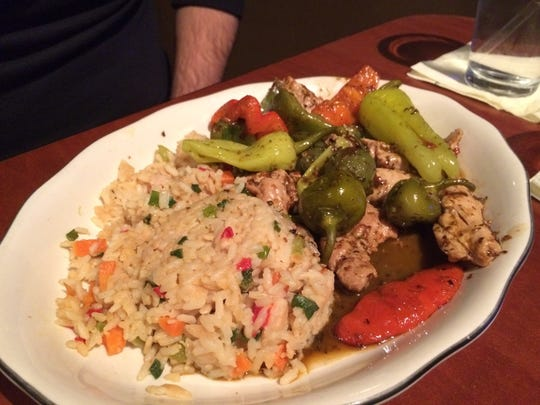 Chicken and peppers entree at Chef's Kitchen in Beaverdale.