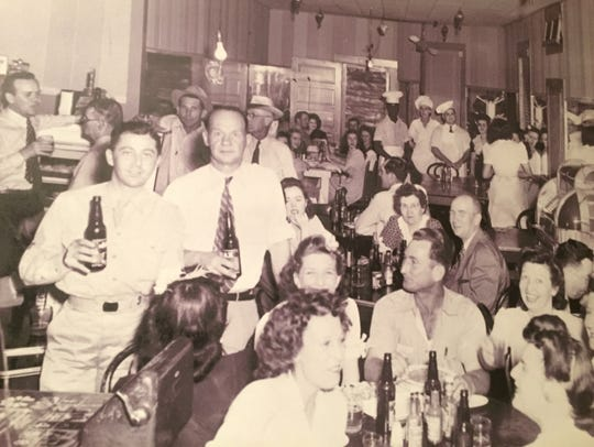 The original Don's Beer Parlor is pictured in this