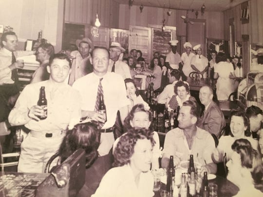 The original Don's Beer Parlor is pictured in this photo, which was taken in the late 1930s or early 1940s.
