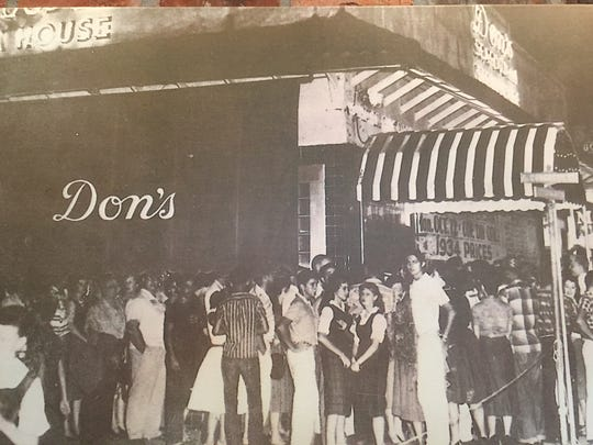 This 1959 photo shows the 25th anniversary party at Don's Seafood and Steakhouse.