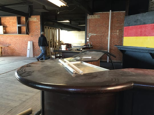 Prost Brewing Co. under renovation at 321 Firehouse