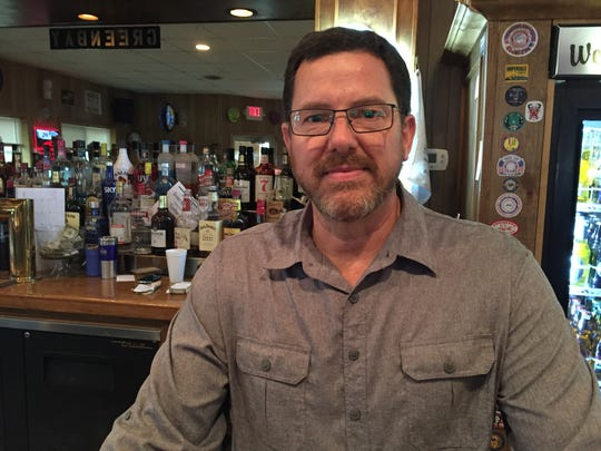 Mike Strom owns and operates the Green Bay Bar & Grill