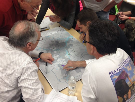 Cyclists take part in a workshop for Salisbury's new