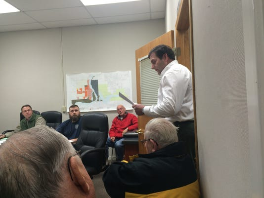 Port Edwards meeting