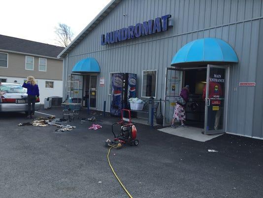 Suzi Sudz Laundromat fire