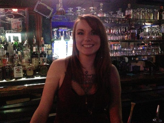 Kandi McKane is a bartender at Fud's Lounge and The Cub.