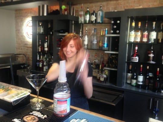 Kelli Sizemore is a bartender at Abby Singer's Bistro in Shreveport.