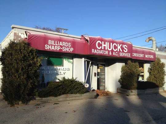 The former Chuck's Radiator building was sold and is becoming Richmond Street Automotive.