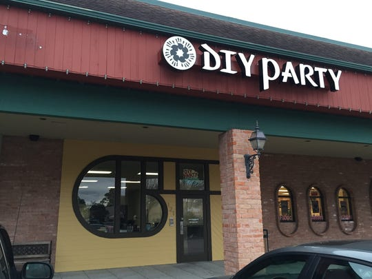 DIY Party is located at 121 Amould Blvd. in Lafayette.