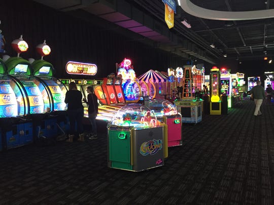 Games at Dave & Buster's in Henrietta.