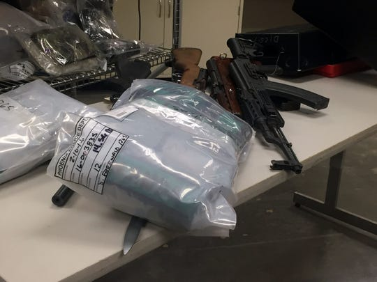 """MCSO also seized a cache of 30 weapons during its """"No"""