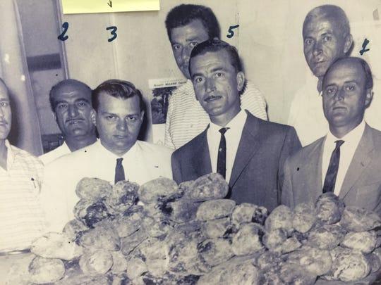 Maricopa County Sheriff Joe Arpaio (No. 3), when he