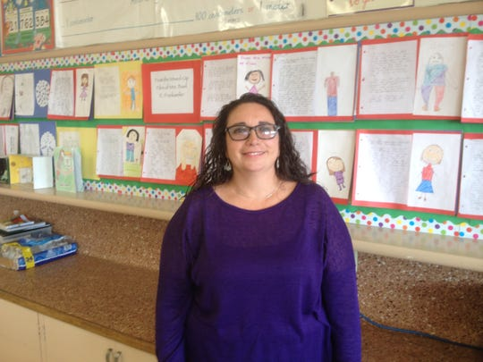 Maria Paredes Marquez teaches fourth grade at Mission Park School in Salinas.