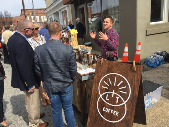 Daniel Ross, of Lit Coffee, explains his business model