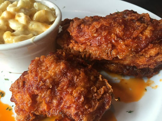 Georgia Reese's downtown on Washington and uptown on 86th Street added Nashville hot chicken to the menu in 2015.