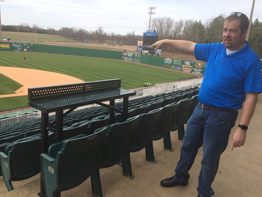 Jason Compton started out as a ticket office intern for the the Jackson Generals — then known as the West Tenn Diamond Jaxx — and worked his way up to general manager.