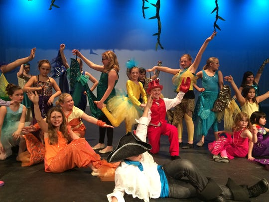 "More than 50 local third- through fifth-graders will take part in ""The Little Mermaid"" this weekend at the Performing Arts Center of Wisconsin Rapids."