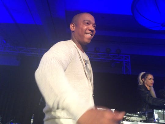 Ja Rule performs at the Desert Smash charity tennis tournament concert at Westin Mission Hills in 2016.