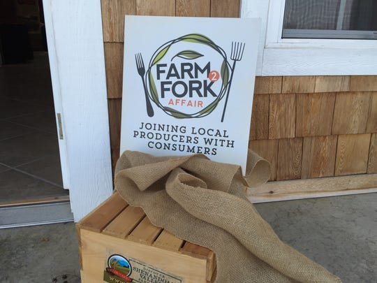 Farm2Fork on Tuesday in Madrid. Heritage Hills Farm