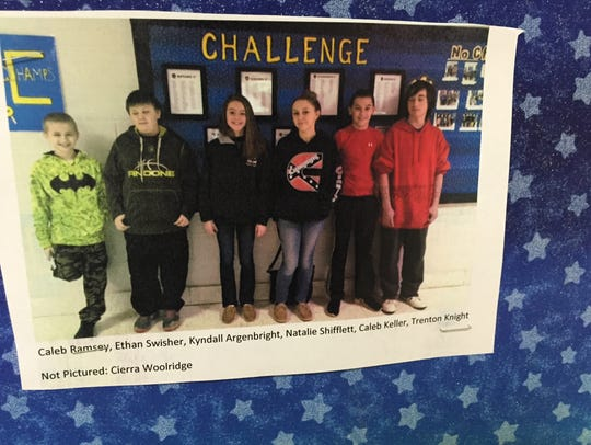 Students at Beverley Manor Middle School can win the