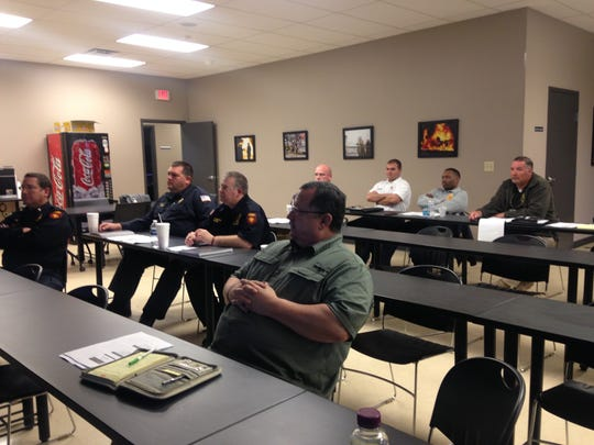 The Madison County Fire Department hosted a two-day training session on fire death investigations this week.