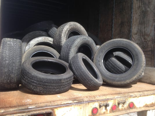 Old tires