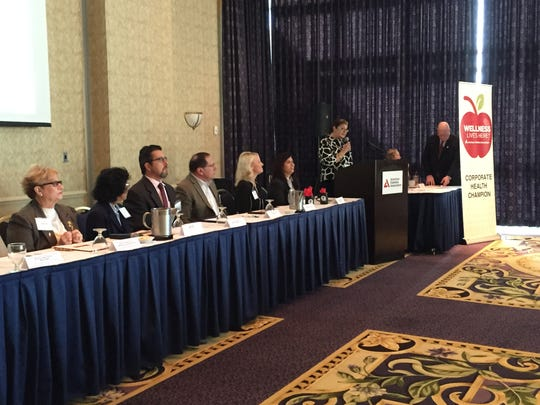 Panelists at the Delaware Leadership Summit on Diabetes discussed the burden of diabetes Wednesday in Rehoboth Beach.